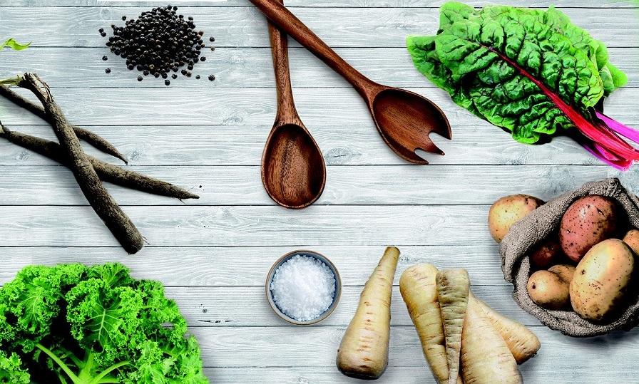 Heimisches Obst und Gemüse