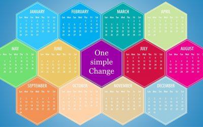 One simple Change: gesünder, fitter und stärker mit einer leichten Änderung pro Monat